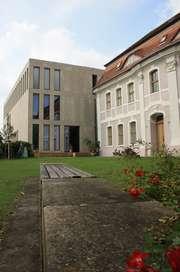 Die Rückseite des Kleist-Museum in Frankfurt (Oder)